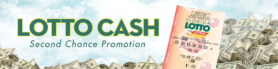 Florida Lotto Cash Second Chance Promotion