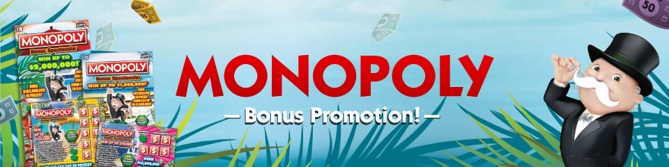 Monopoly Bonus Second Chance Promotion