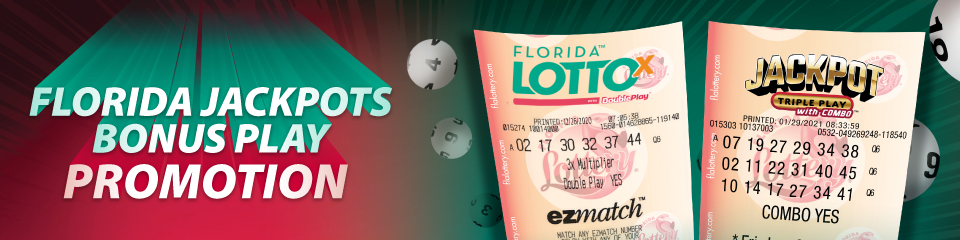 Florida Jackpots Second Chance Promotion